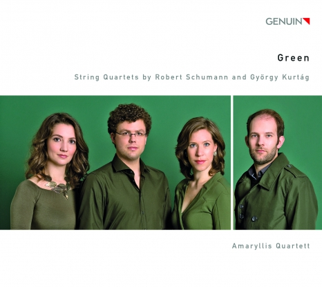 amaryllis quartett green cd cover