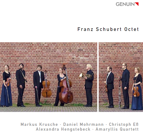 amaryllis quartett schubert oktett cd cover