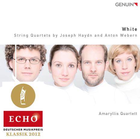 amaryllis quartett streichquartett white cover echo klassik