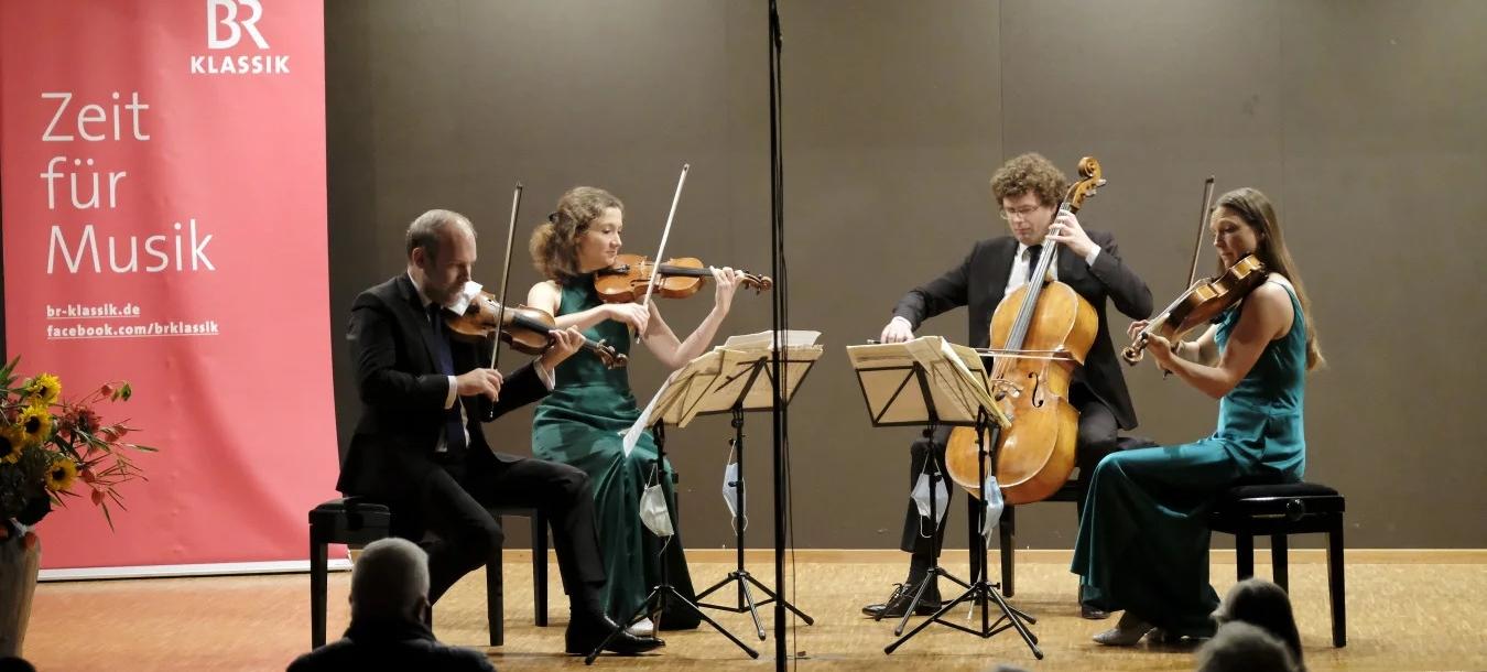 Amaryllis Quartett spielt in Icking, BR-Klassik Mitschnitt