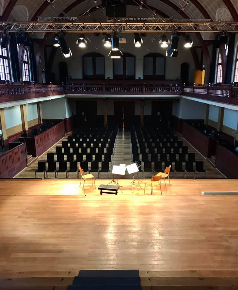 Konzertsaal Solothurn leer
